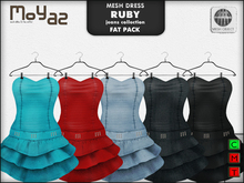 Ruby Mesh Dress - Jeans collection - FATPACK 5 DRESSES