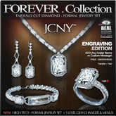 JCNY - 'FOREVER Collection, Engraving Jewelry Set