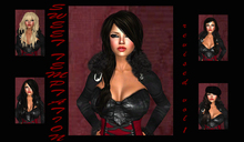 Sweet Temptation fat pack hair collection 20 flexy female hairs / no mesh /