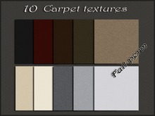 Pack 10 carpet textures (1024x1024)
