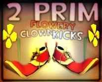 RACHEL BREAKER 2PRIM flowerkixx clown shoes pwesent