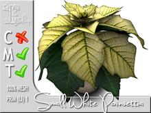 Terrashop - Small White Poinsettia     100% original mesh