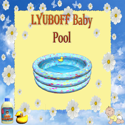 LYUBOFF Baby Pool (with different texture choices) + Bonus