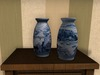 Dutchie mesh Chinese hand painted porcelain vases