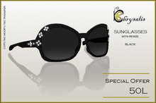 Chrysalis - Black Sunglasses