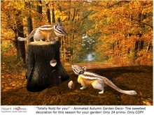 Autumn squirrels- Totally nutz for you!