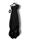 Chrysalis - Margot mesh long dress - black