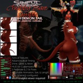 Animated Mesh Demon Tail - Chubby, Simple Bare