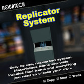 Networked Replicator System