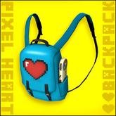 Pixel Heart - Mesh Backpack [New Sizes!]