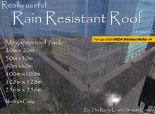 really useful Rain Resistant Roof - Megaprim roof pack v2