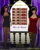 Body & Soul - BEAUTY BOUTIQUE -  Complete Avatar - Mix & Match Make-up - Duo Set - Dark -