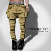 AMERIE M - Mesh Cargo(Khaki)