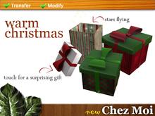 Gifts Warm Christmas 1 ♥ CHEZ MOI