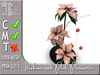 Terrashop - Ikebana with Pink Poinsettia  100% original mesh