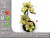 Terrashop - Ikebana with White Poinsettia 100% original mesh