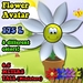 [Screwball Cartoon Avatars] Flower Avatar