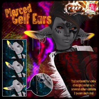 [][]Trap[][] [ni.Ju] Gelf Ears Pierced