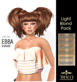 Amacci Hair ~ Ebba - Light Blond Pack