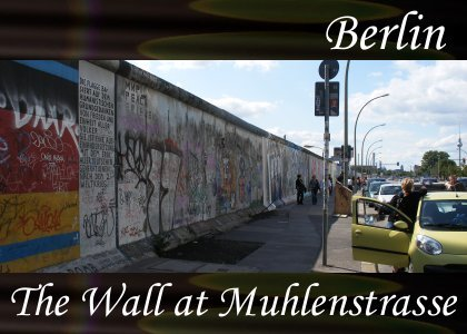 Atmo-Berlin - The Wall at Muhlenstrasse 1:50