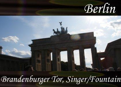 Atmo-Berlin - Brandenburger Tor, Singer & Fountains 1:50