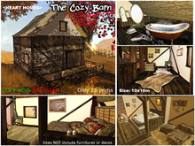 Heart Homes houses: The Barn- Country small house or Stable
