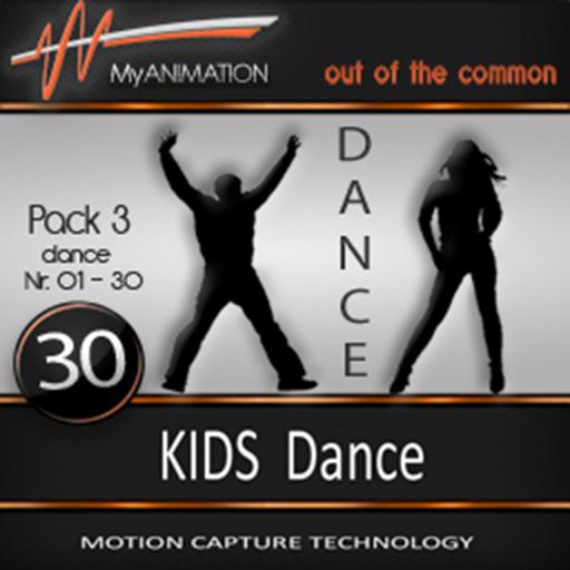 MyANIMATION * NEW * Pack 3 - KIDS Dances - SUPER REALISTIC Motion Capture Animations - Watch VIDEO