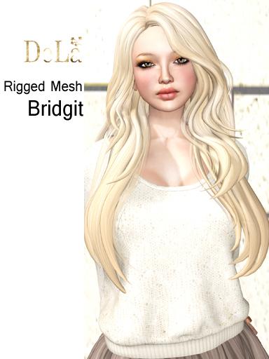 "=DeLa*= Mesh Hair ""Bridgit"" Demo"