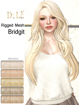 "=DeLa*= Mesh Hair ""Bridgit"" Blondes"