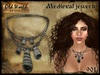 Medieval necklace with shells v2 - Old World - Medieval / Fantasy / Rustic