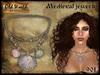 Medieval necklace with shells v3 - Old World - Medieval / Fantasy / Rustic
