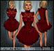 [Wishbox] Reveries (Red) - Mod Victorian Dolly Babydoll Dress Doll Costume Goth EGL Gothic Vampire