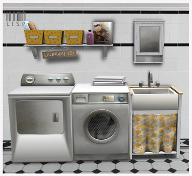 LISP - Mesh - Laundry Room Lemon