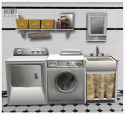 LISP - Mesh - Laundry Room Lemon