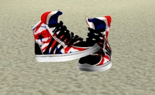 Mesh Sneakers GB British