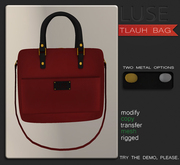 LUSE - Tlauh Bag - Red