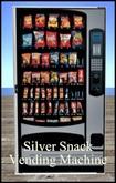 Silver Snack Vending Machine