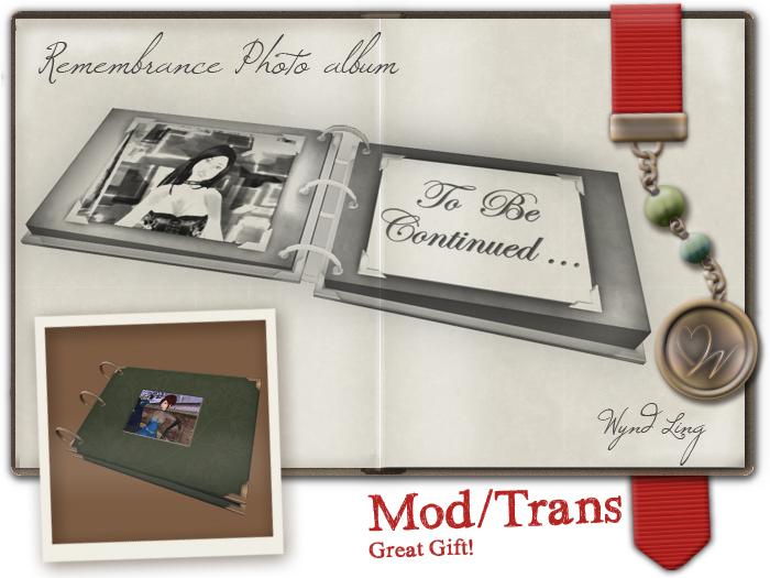 -W-[ photo album ] Remembrance Gift  (mod/trans)
