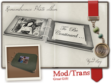 -W-[ photo album ] Remembrance Gift  (mod/trans)