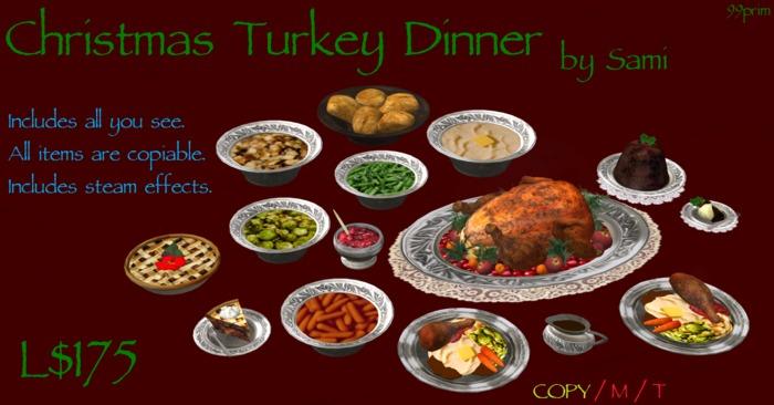 Christmas Turkey Dinner by Sami