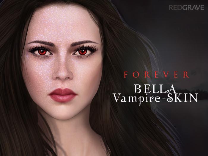 Skin BELLA - Vampire / Bundle - REDGRAVE