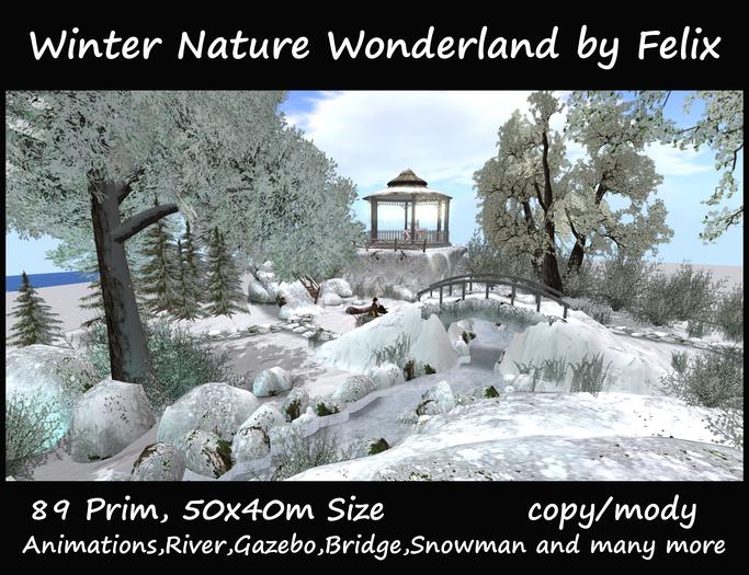 Winter Nature Wonderland by Felix 89 Prim