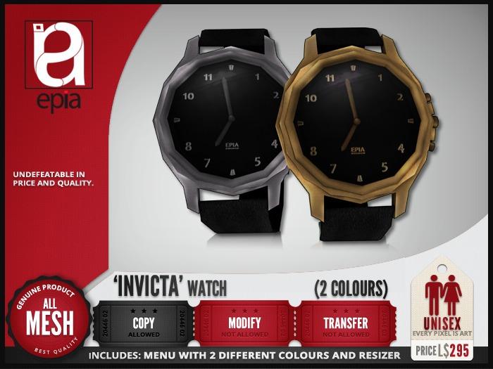 (epia) - 'Invicta' Watch