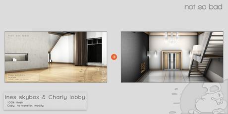 not so bad . CHARLY lobby  & INES skybox . prefab mesh
