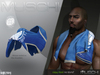 MUSCHI - Restful (Neck Blouse) BLUE