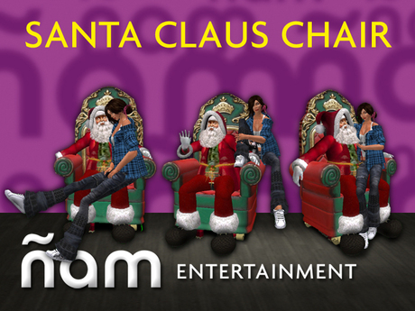 Santa Claus Chair ÑAM