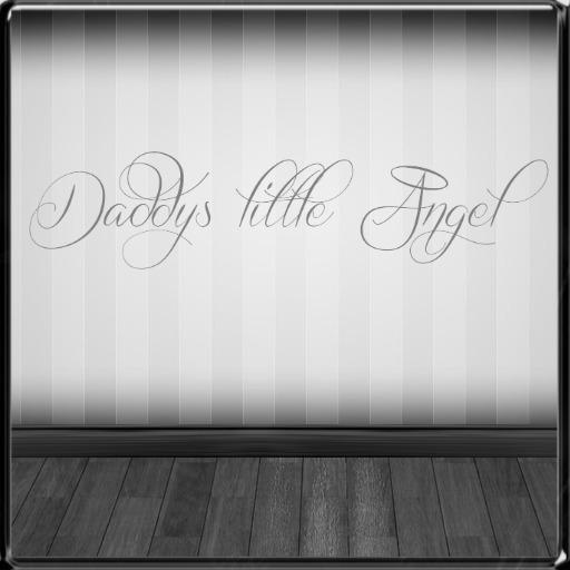 *~LT~* Daddys Little Angel Wall Art Decal