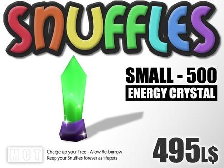 Snuffles Breedables Energy - 500 Energy Crystals