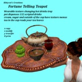 Fortune Telling Tea Tray