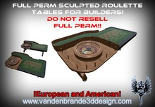 ~~ Full perm roulette tables + maps & textures European and american!